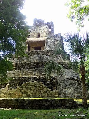 La zona arqueológica de Muyil, Quintana Roo.. Noticias en tiempo real
