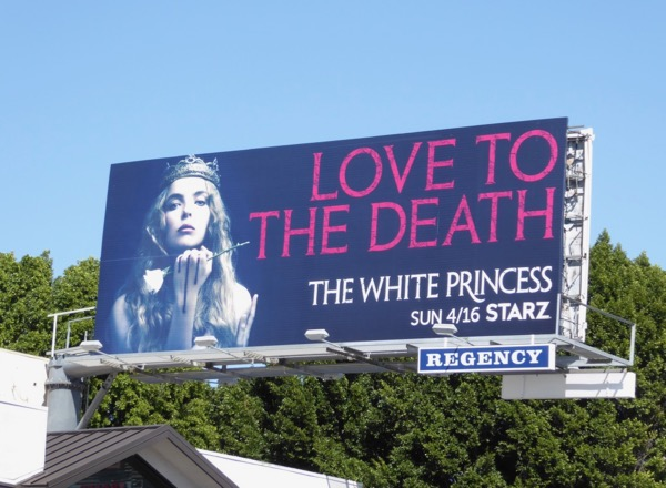 White Princess billboard