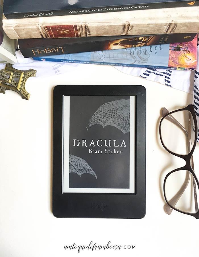 Livro Drácula, a história original de Bram Stoker