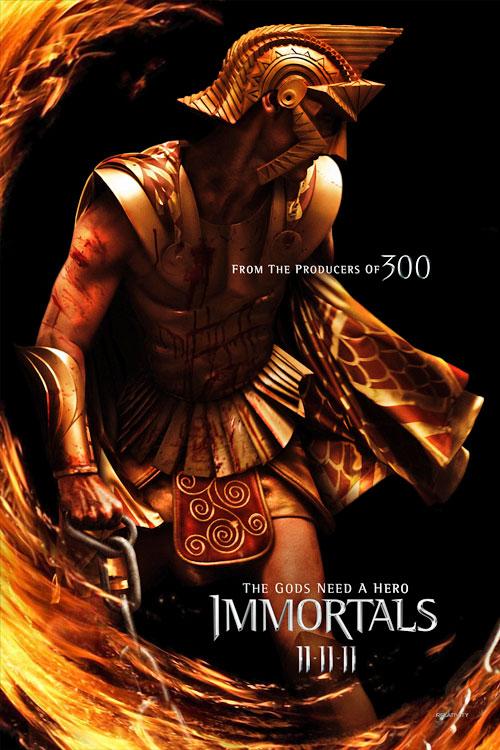Poster de Zeus en Inmortals