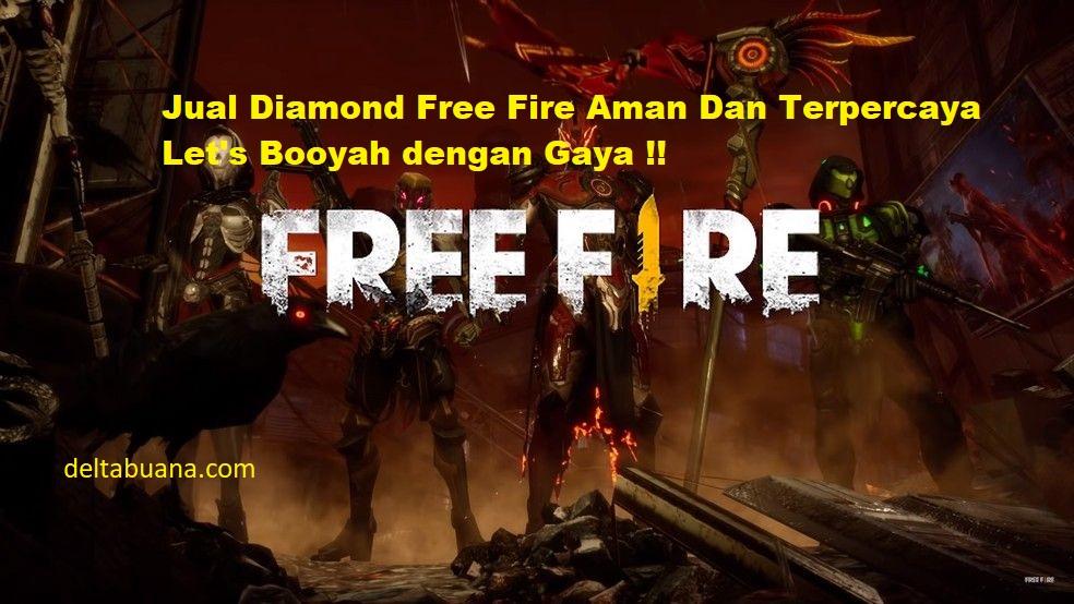 Jual diamnond Free fire murah
