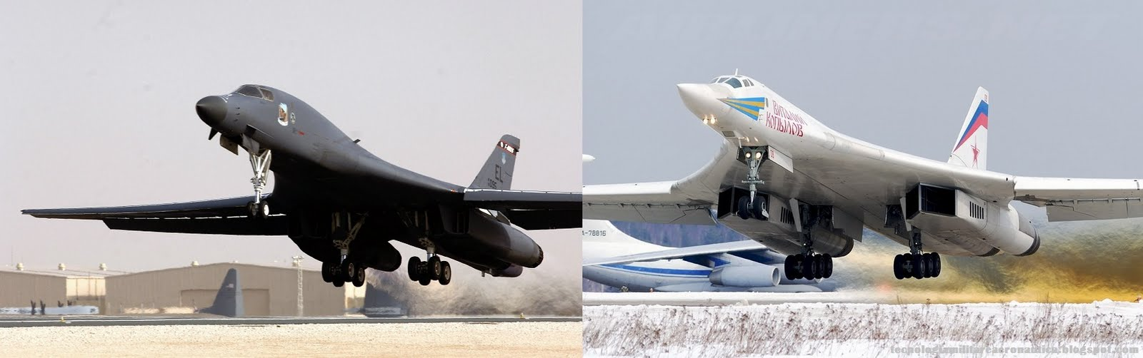 Russia vs US bomber competition in 2020s will still mainly ... B1 Lancer Vs Tu 160