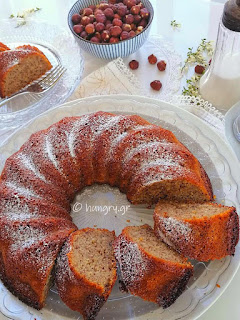 Yogurt Hazelnut Cake
