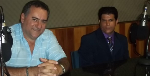 Matemático Valdivino Sousa visita à Rádio Estúdio Brasil em Brasília -DF