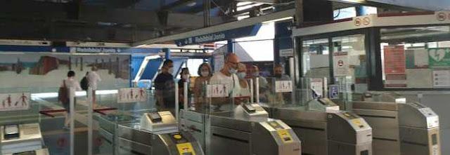 Roma, in metro arriva la task force contro i passeggeri senza mascherina