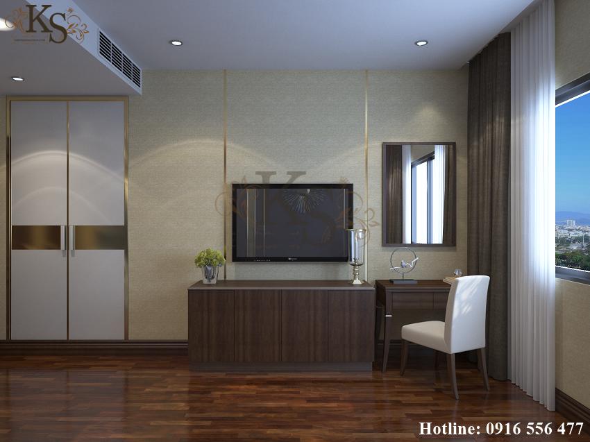 Hình ảnh: Thiết kế nội thất phòng ngủ khách sạn 3 sao vừa đẹp vừa tiện nghi.