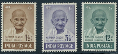 India IMahatma Gandhi set