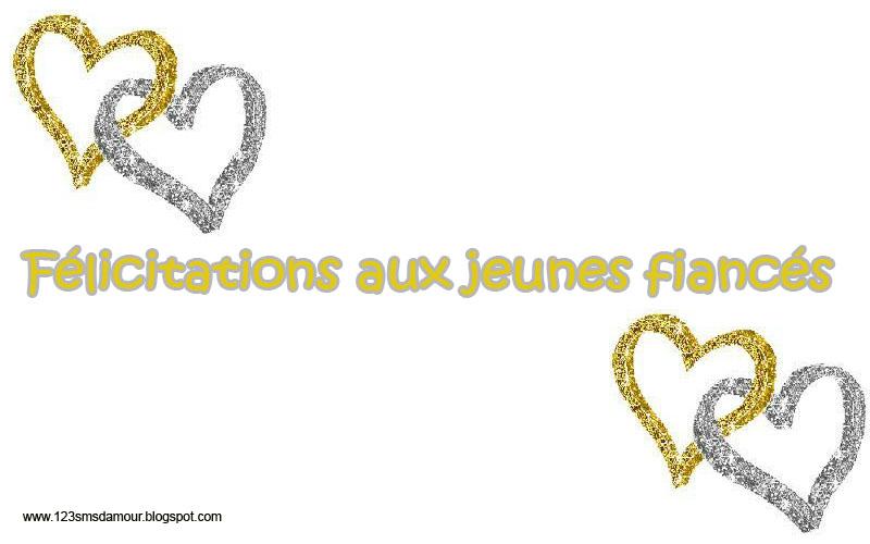 Connu Exemple texte félicitation fiançailles | Amourissima - Mots d  YL41