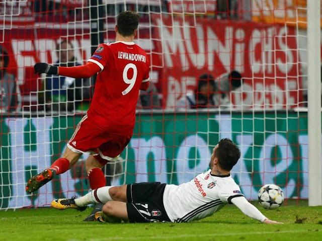 Liga Champions: Bayern Gasak Besiktas 5-0
