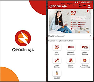 Kirim Paket COD dengan QPOSin AJA (Cash On Delivery)