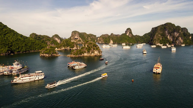 Ha Long Bay, Cat Ba - Nature Masterpiece Seen From The Sky 9