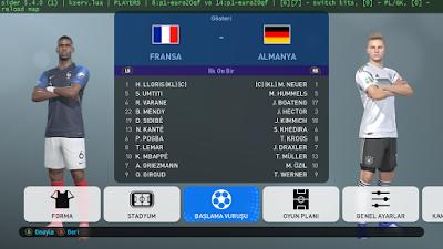 PES 2019 Kitserver Euro 2020 Qualifiers Kits by tekask1903