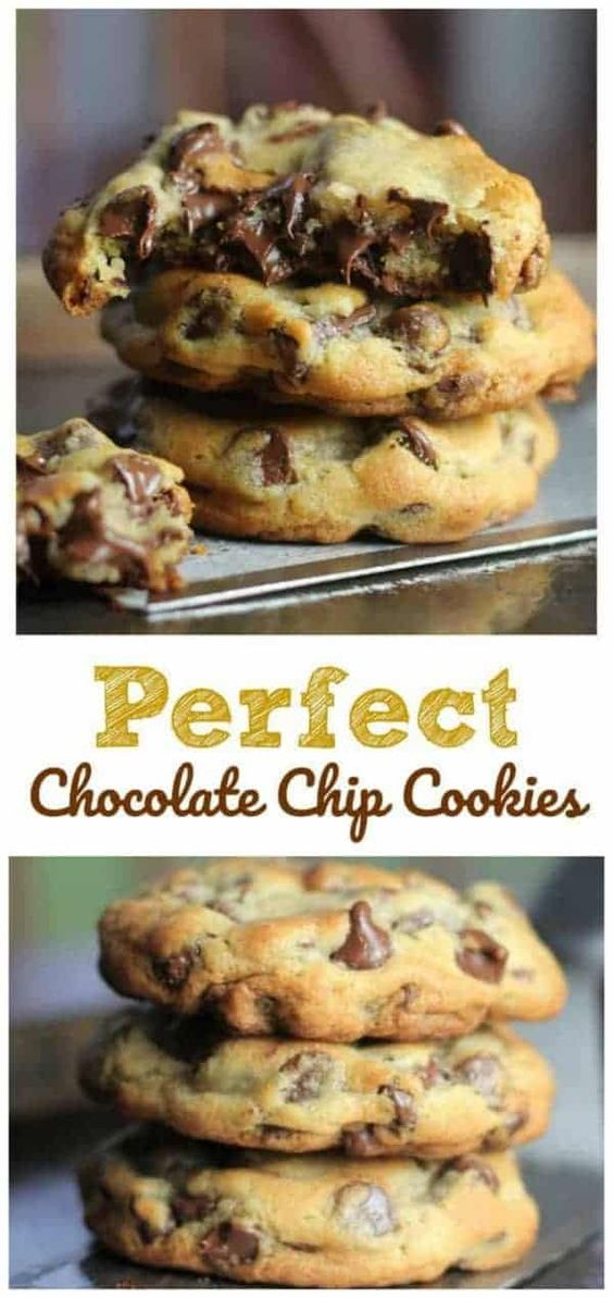 Most Perfect Chocolate Chip Cookies