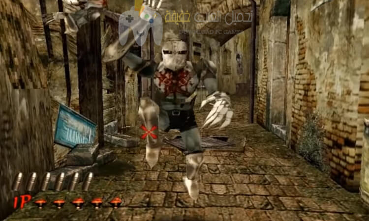 تحميل لعبة بيت الرعب The House Of The Dead 2 مضغوطة