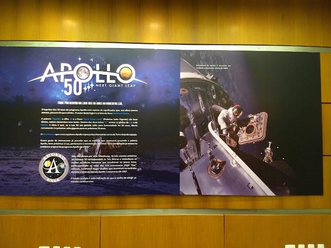 Tecnologia: Exposição Apolo 11 no Planetário de Brasília