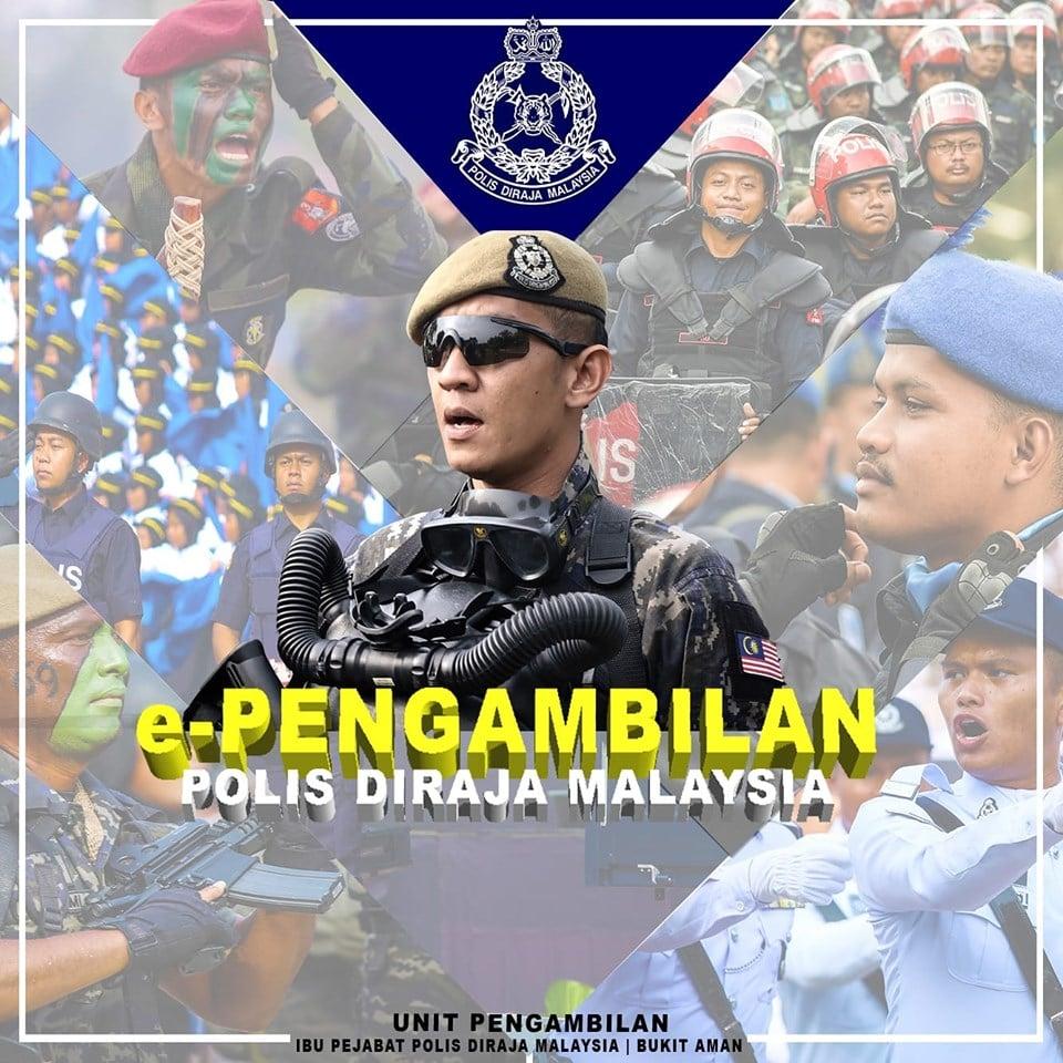 Permohonan Terbuka Polis Diraja Malaysia Pdrm