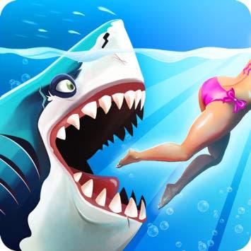 تحميل لعبة hungry shark مهكرة 2019