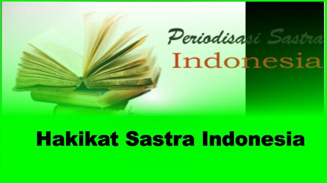 Periodesasi sastra indonesia