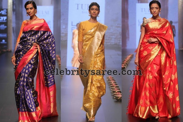 Kanjeevaram Sarees at Lakme Fashion Week
