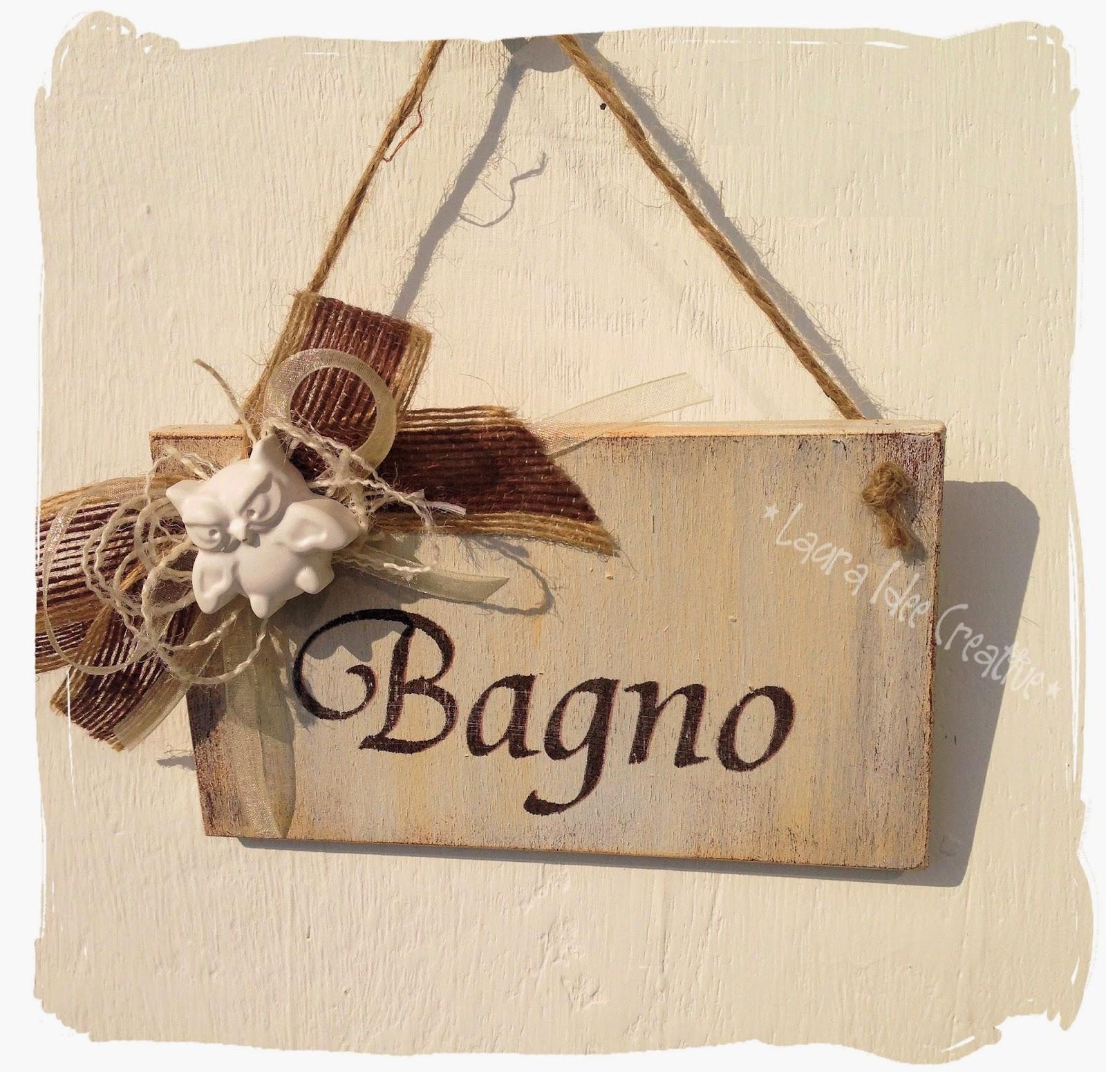 Laura idee creative cartelli in legno per agriturismo e - Targhette porta ...