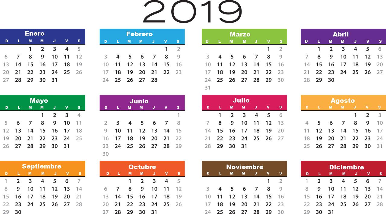 Calendario 2019 Para Descargar Imprimir Y Tener Contigo Imagenes De Navidad