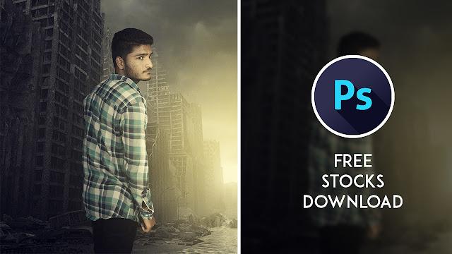 17p My Dead City - Photoshop Dramatic Manipulation Tutorial Tutorial