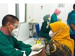 Serentak, Hari Ini Seluruh Puskesmas di Indramayu Lakukan Vaksinasi