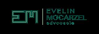 Logotipo para Drª Evelin Mocarzel, escritório de Advocacia, por Minuta Linguagem Visual