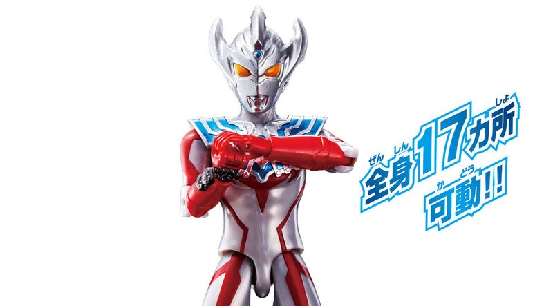 Ultra Action Figure Ultraman Taiga Official Images - JEFusion
