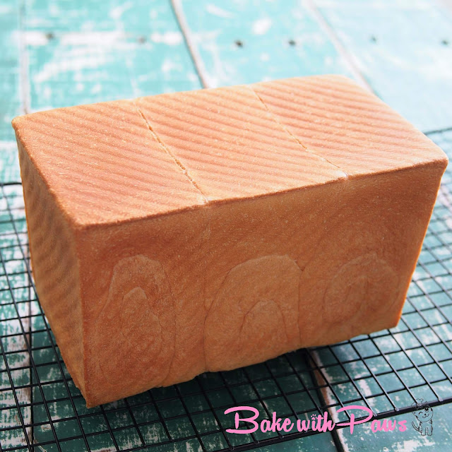 Japanese Soft White Bread (Shokupan)