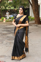 Poorna in Cute Backless Choli Saree Stunning Beauty at Avantika Movie platinum Disc Function ~  Exclusive 152.JPG