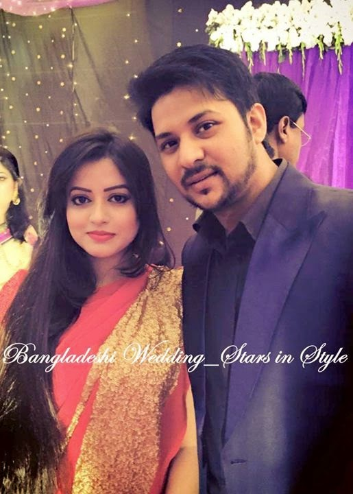 Nirob And His Wife Tashfia Wedding Photos