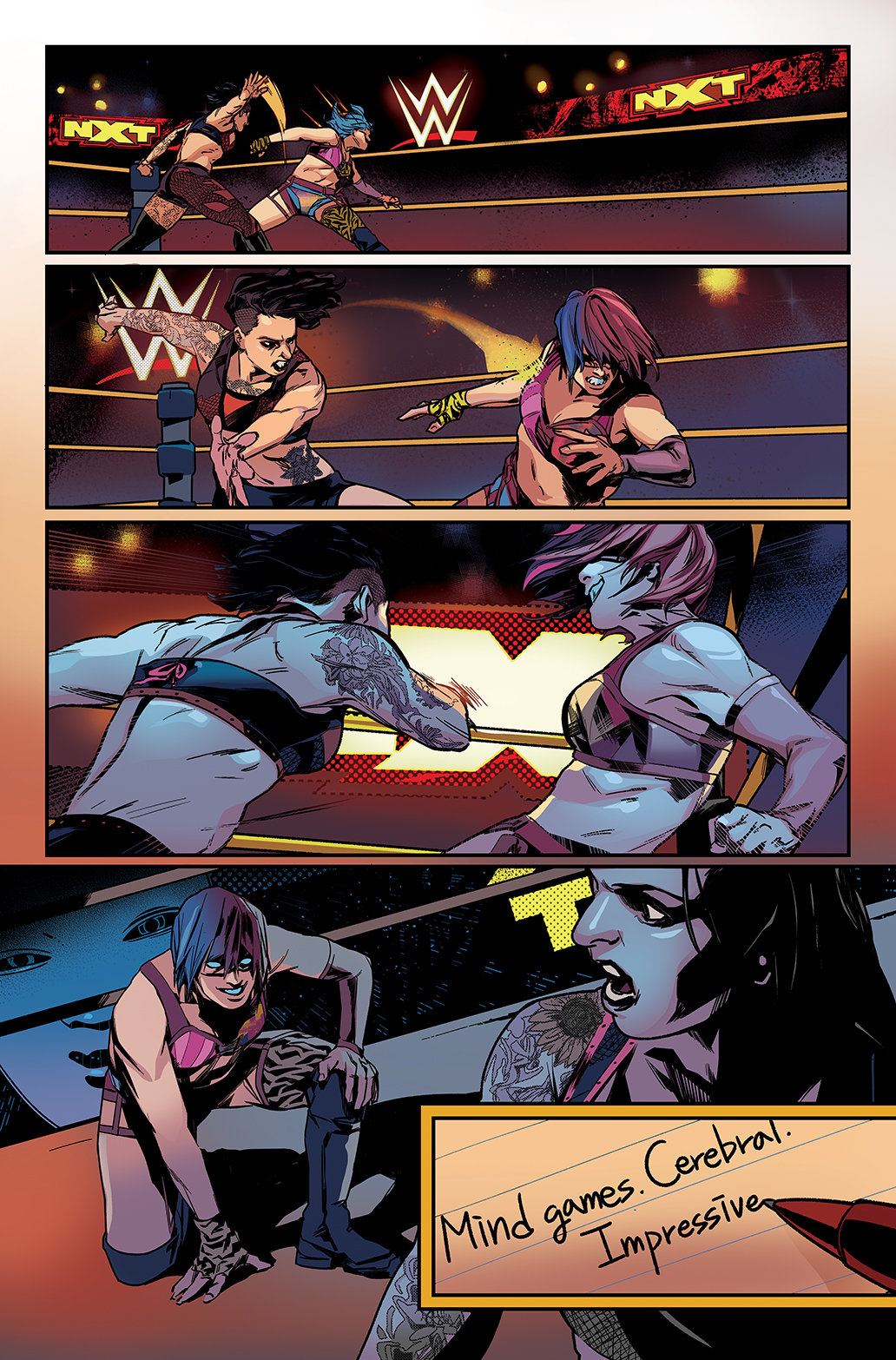 WWE: NXT TAKEOVER –  INTO THE FIRE #1