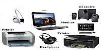 दर्शाये गये चित्र में Devices को किस श्रेणी में रखा गया है | - Output device