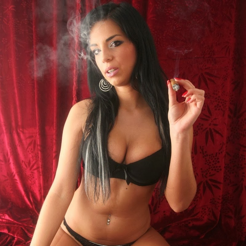 Smoking Teen Tube