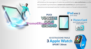 Logo Con Perfetti Van Melle vinci Ipad e Apple Watch