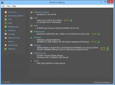 cara cek RAM di Laptop