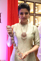 Samantha Ruth Prabhu in Cream Suit at Launch of NAC Jewelles Antique Exhibition 2.8.17 ~  Exclusive Celebrities Galleries 050.jpg