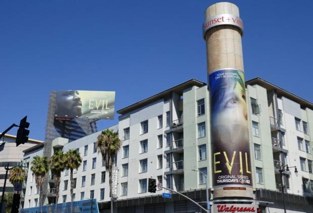 Evil series launch billboards