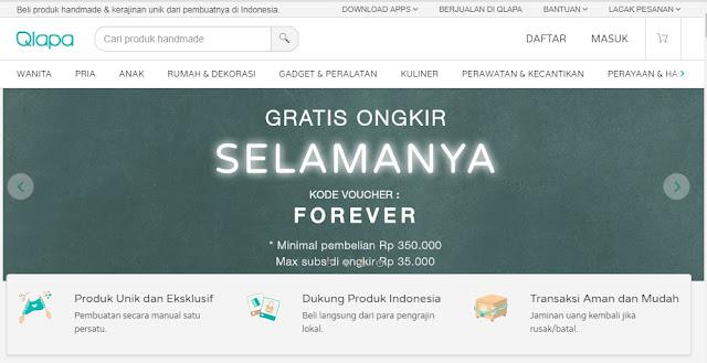 Qlapa.com Rumahnya Produk Handmade dan Kerajinan Tangan Indonesia
