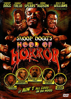 SNOOP DOGG'S HOOD OF HORROR, jaquette, poster, affiche, horreur, snoop dogg, daniella alonso, danny trejo