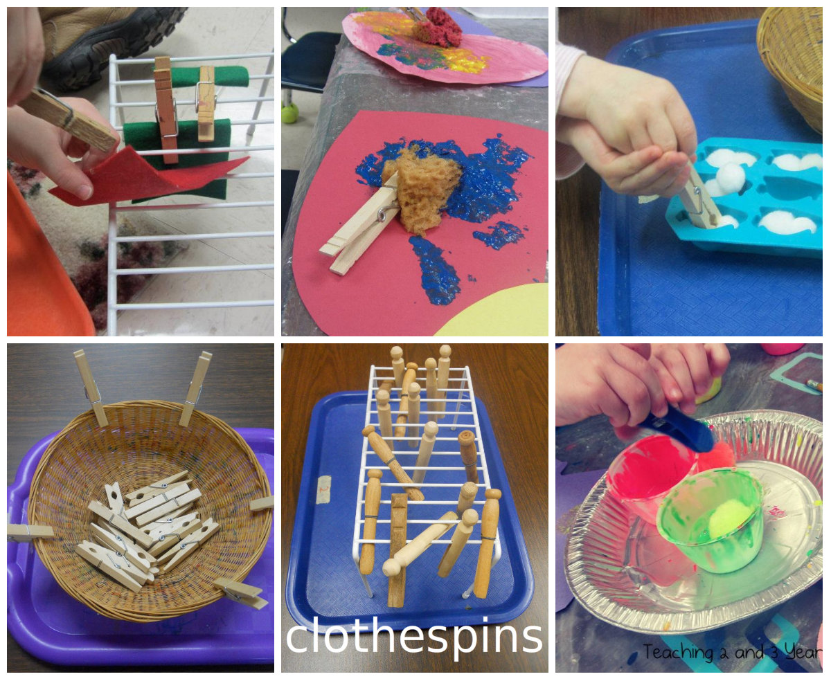 Teaching 2 And 3 Year Olds Some Of Our Favorite Fine Motor Tools And Activities