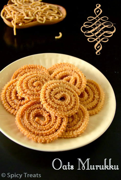 Oats Murukku Recipe