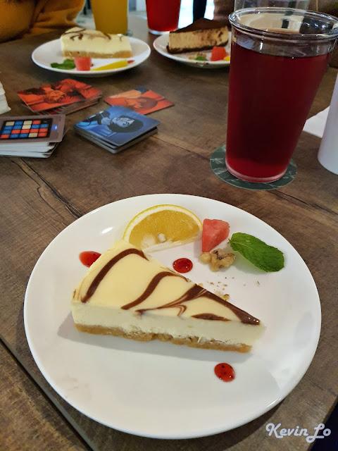 拉波波村營區大理石乳酪蛋糕