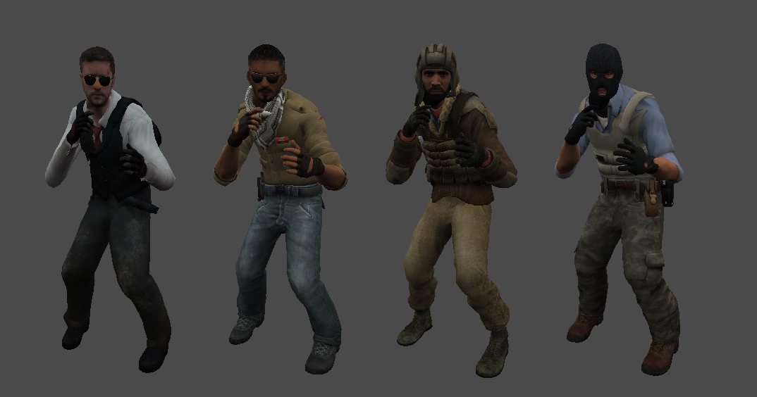 Csgo character models download шаблон сайта csgo club cs go