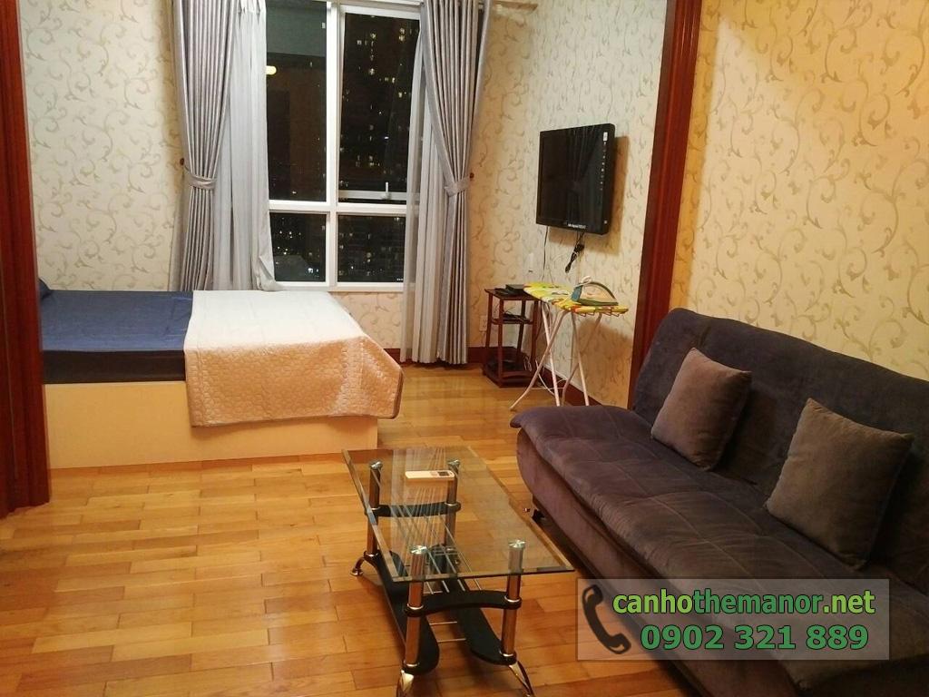 Giá thuê căn hộ 38m2 The Manor Nguyễn Hữu Cảnh 2018