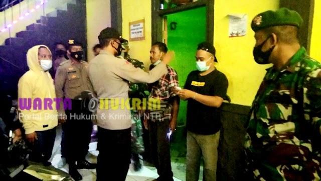 Tim Gabungan TNI-Polri, Razia Miras Sejumlah di Kota Bima