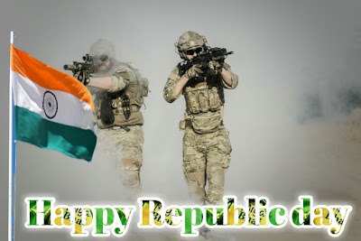 Happy republic day flag images