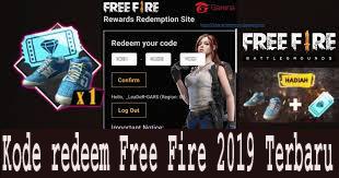 kode redeem free fire 2019 terbaru 1