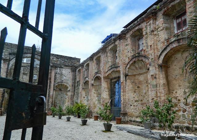 Colégio dos Jesuítas, no Casco Antiguo da Cidade do Panamá